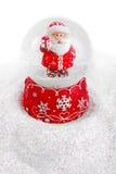 Christmas crystal ball Stock Images
