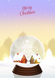 Christmas crystal ball Stock Photo