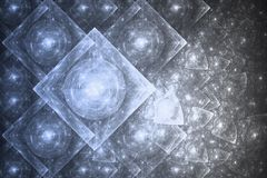 christmas crystal ice snow διανυσματική απεικόνιση