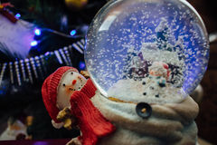 Christmas crystalball Royalty Free Stock Photography