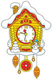Christmas Cuckoo-Clock Stock Photo