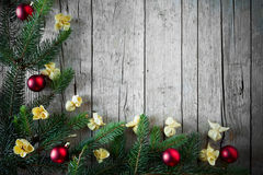 Christmas Cuisine Background Stock Photography