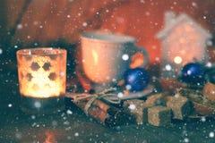 Free Christmas Cup Of Orange Cinnamon Sugar Royalty Free Stock Image - 78800766