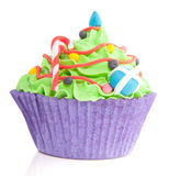 Christmas Cupcake Royalty Free Stock Photos