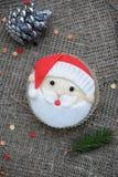 Christmas cupcake Royalty Free Stock Photo