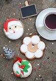 Christmas cupcake Royalty Free Stock Photography