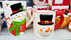Christmas cups Stock Photo