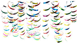 Free Christmas Curly Ribbons Stock Photography - 22012102