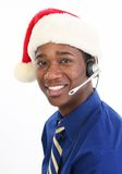 Christmas Customer Service Stock Images