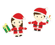 Christmas cute kid Stock Photography