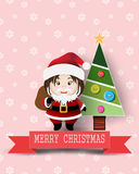 Christmas cute kids Royalty Free Stock Photos