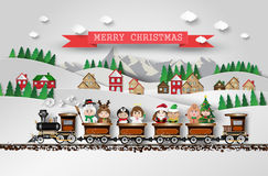 Christmas cute kids Stock Photo