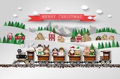 Christmas cute kids Stock Photo