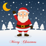 And So This Is Christmas - Cute Santa Claus Royalty Free Stock Images