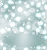 Christmas Cute Wallpaper With Sparkle Stock Image