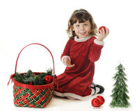 Christmas Cutie Royalty Free Stock Image