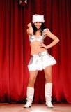 Christmas dancer Royalty Free Stock Image