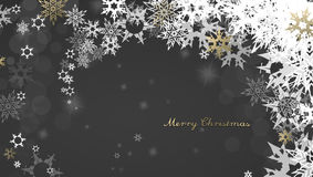 Christmas dark background Stock Photo