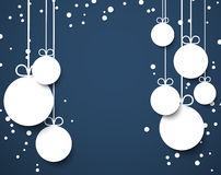 Christmas dark blue abstract background. Stock Images