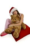 Christmas Day Dreaming Stock Images