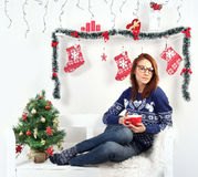 Christmas day Stock Images