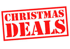 CHRISTMAS DEALS Royalty Free Stock Image