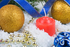 Christmas decor Stock Image