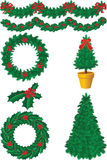 Christmas decor Royalty Free Stock Images