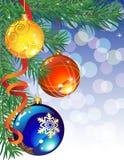 Christmas decor stock images