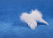 Christmas decor - angel wings Stock Photography