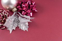 Christmas Decor Background Royalty Free Stock Image