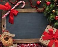Christmas decor background Stock Photography