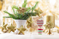 Christmas decor. Stock Image
