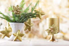 Christmas decor. Stock Photos