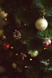 Christmas Decor ball. My home decor Royalty Free Stock Photography