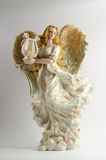 Christmas decor (ceramic angel) Stock Photo