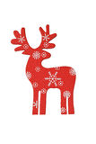 Christmas decor deer Royalty Free Stock Image
