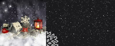 Christmas decor for design royalty free stock photography