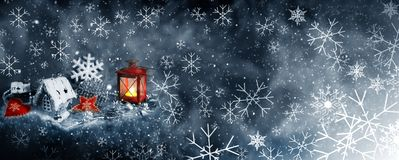 Christmas decor for design stock images