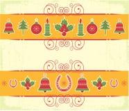 Christmas decor elements for design. New year image royalty free illustration