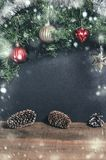 Christmas decor free space for congratulations. Text Royalty Free Stock Photography
