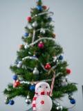 Christmas decor without glamor. stock photo