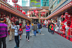 Christmas decor at harbour city, hong kong Royalty Free Stock Photos