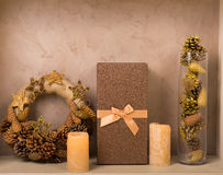 Christmas decor at home Royalty Free Stock Images