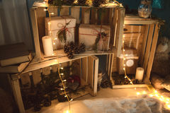 Christmas Decor. My home decor Royalty Free Stock Images