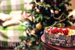 Christmas decor object ball Stock Photo