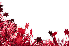 Christmas decor with stars Royalty Free Stock Image
