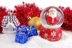 Christmas decorate composition Stock Photo