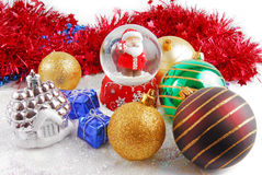 Christmas decorate composition Stock Photos