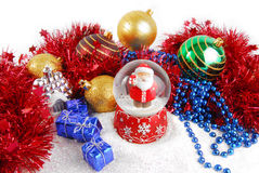 Christmas decorate composition Royalty Free Stock Photography